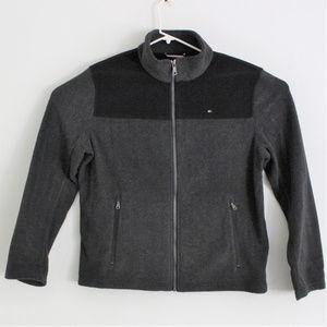 Tommy Hilfiger Fleece Full Zip Jacket Large Grey